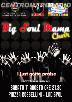 Grande musica in piazza con la Big Soul Mama Band